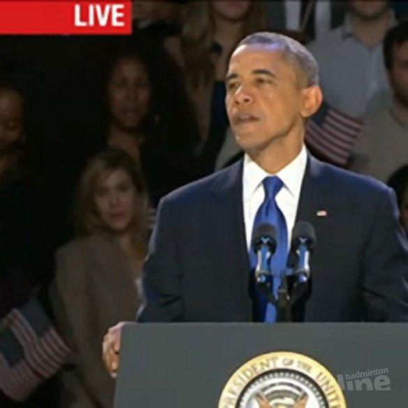 Obama herkozen als president - CNN Live