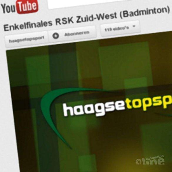 Cameraploeg Haagse Topsport bij RSK van regio Zuid-West - Haagse Topsport