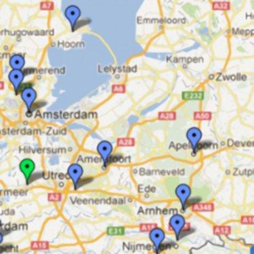 Locaties START in beeld