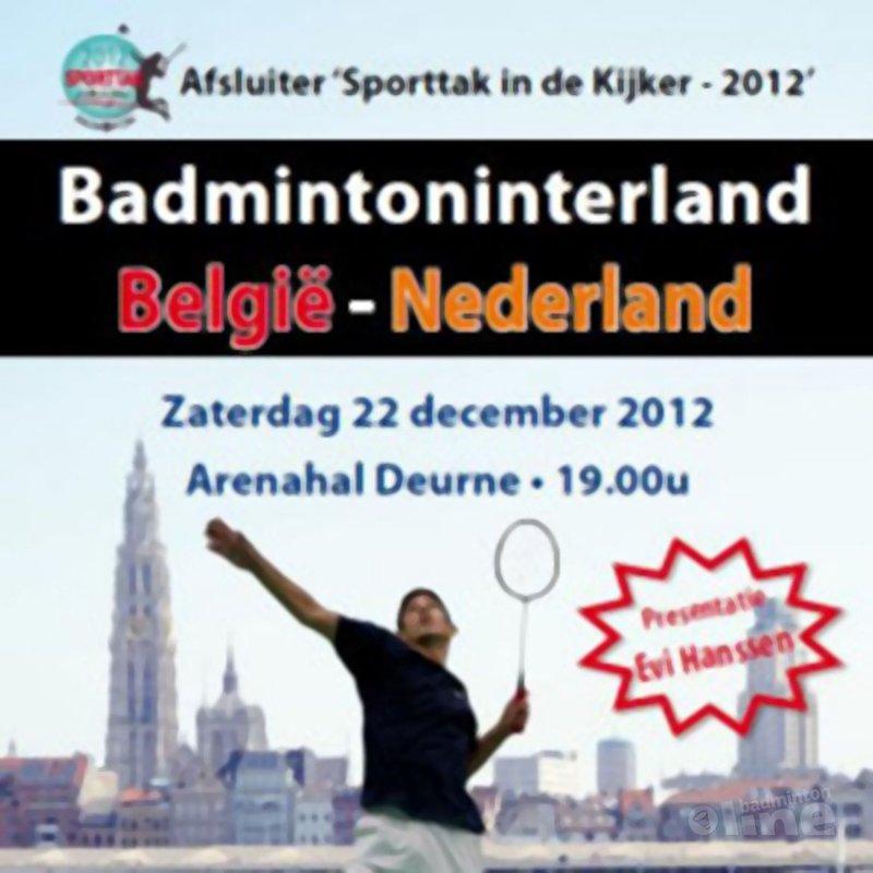 De Badmintonderby der Lage Landen - Badminton Vlaanderen