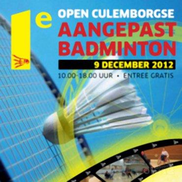 Open Culemborgse Aangepast Badminton op 9 december 2012
