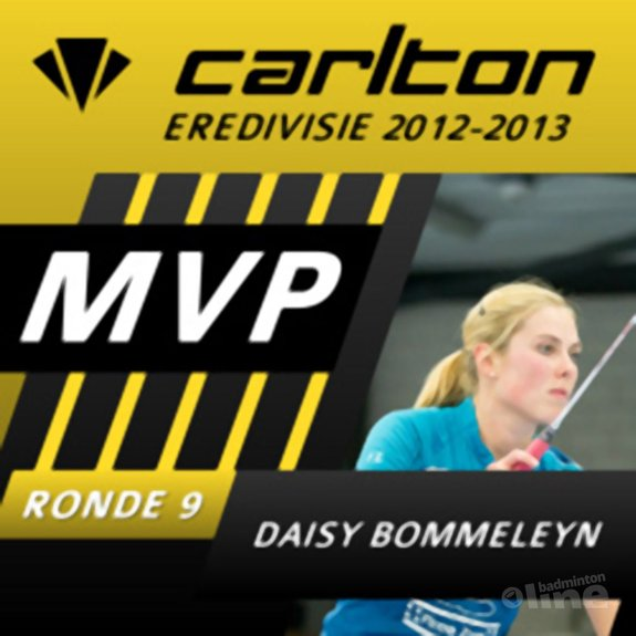Daisy Bommeleyn MVP van speelronde 9 - René Lagerwaard