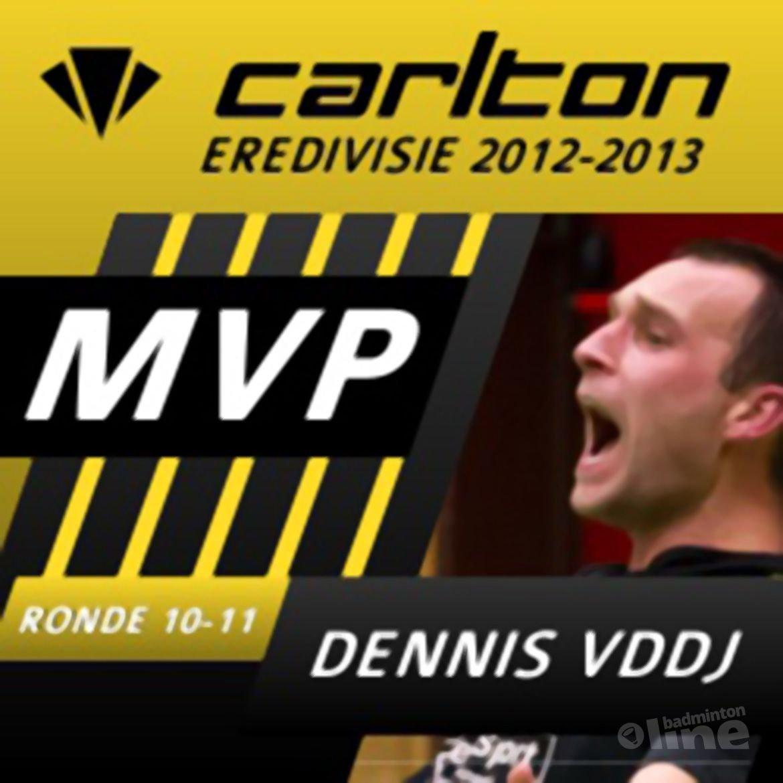 Dennis van Daalen de Jel MVP van speelronde 10-11