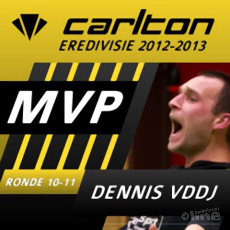 Dennis van Daalen de Jel MVP van speelronde 10-11 - Alex van Zaanen