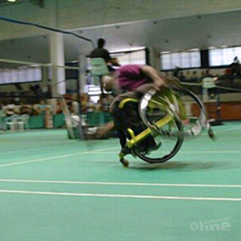 Marcel Smouter: 'De karretjes van het aangepast badminton'