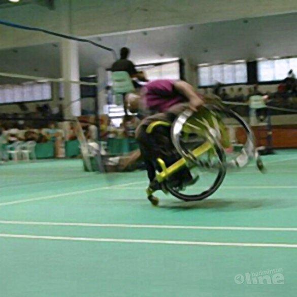 Marcel Smouter: 'De karretjes van het aangepast badminton' - Marcel Smouter