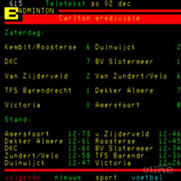 Almere wint uit met 7-1 van TFS Barendrecht - NOS Teletekst