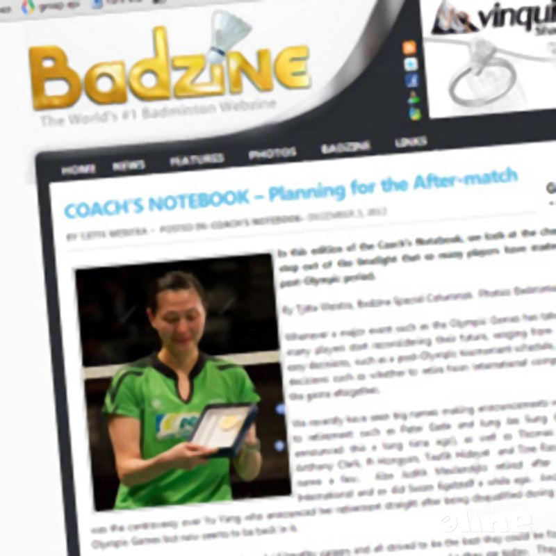 Tjitte Weistra: 'Planning for the After-match' - Badzine