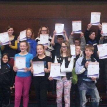 Het regent deeldiploma's bij BC Westerbork