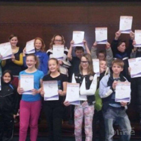 Het regent deeldiploma's bij BC Westerbork - BC Westerbork