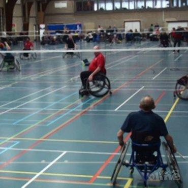 Videoverslag van aangepast badminton toernooi in Culemborg
