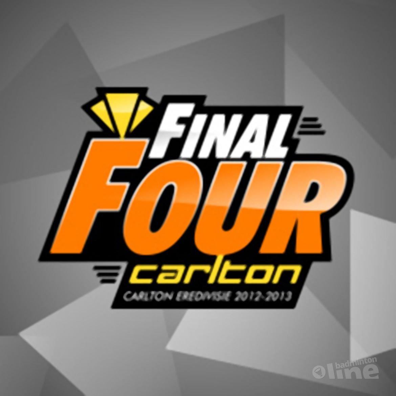 Wie eindigen er bij de Final Four van de Carlton Eredivisie 2012-2013?