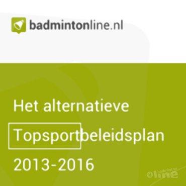 EXCLUSIEF: Het alternatieve Topsportbeleidsplan 2013-2016 - Meer doen voor minder geld