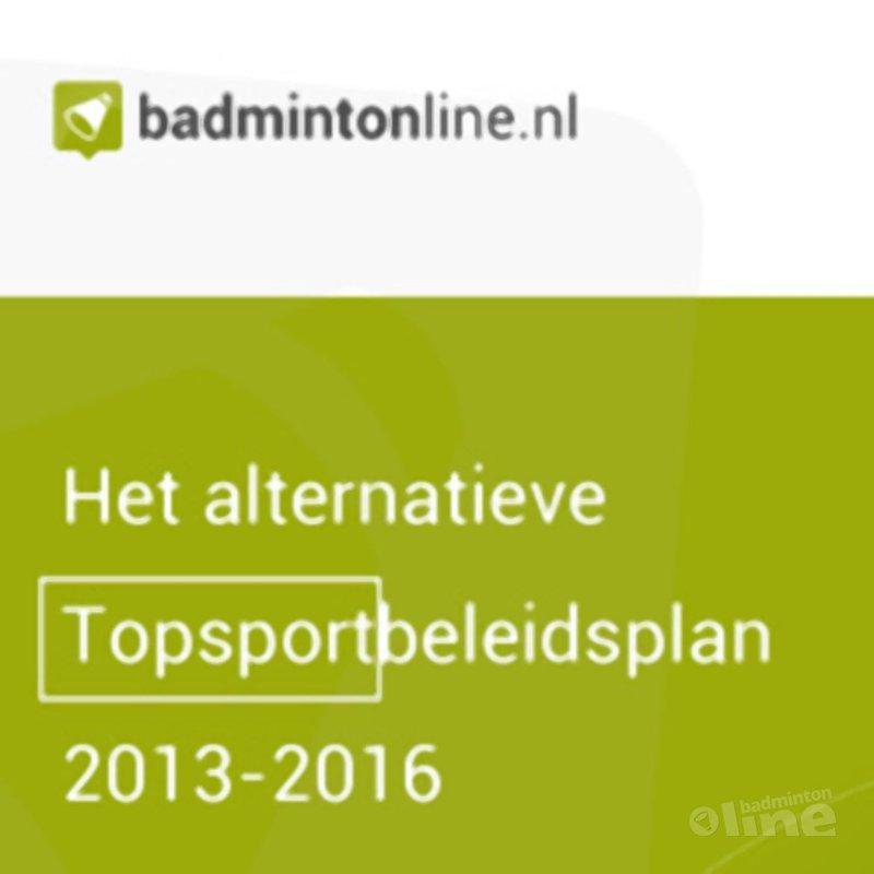 EXCLUSIEF: Het alternatieve Topsportbeleidsplan 2013-2016 - Meer doen voor minder geld - CdR