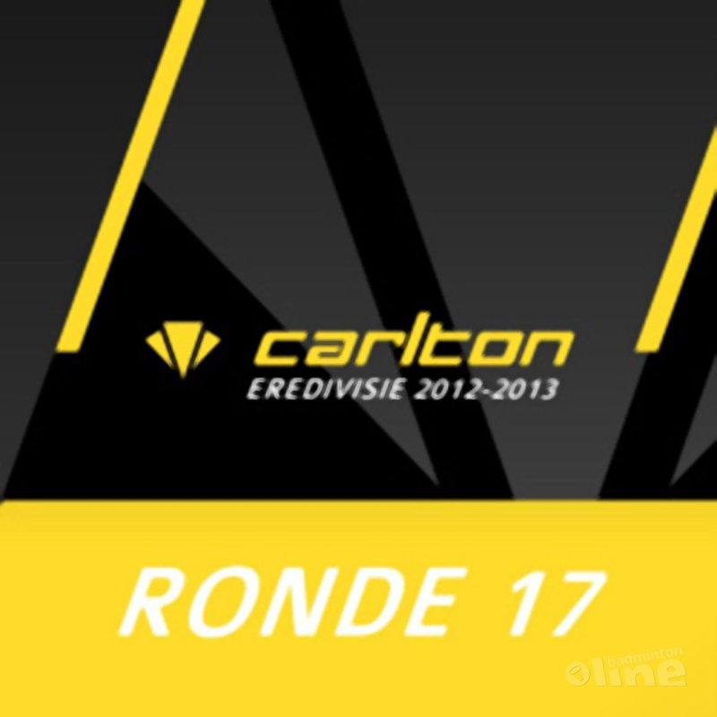 Carlton Eredivisie 2012-2013 - speelronde 17 - CdR