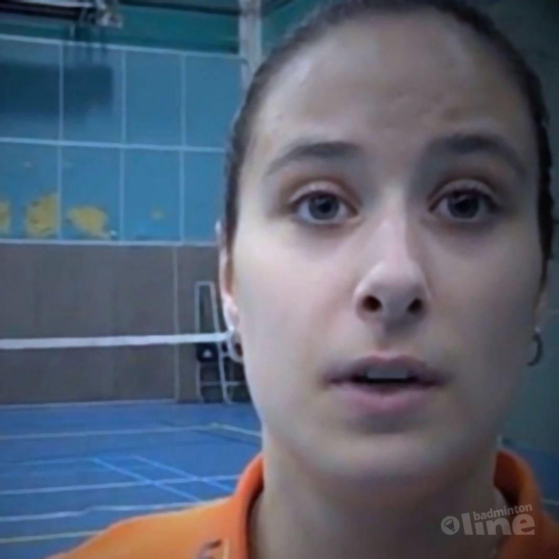 Backstage-beelden van de Battle Badminton bij ZappSport