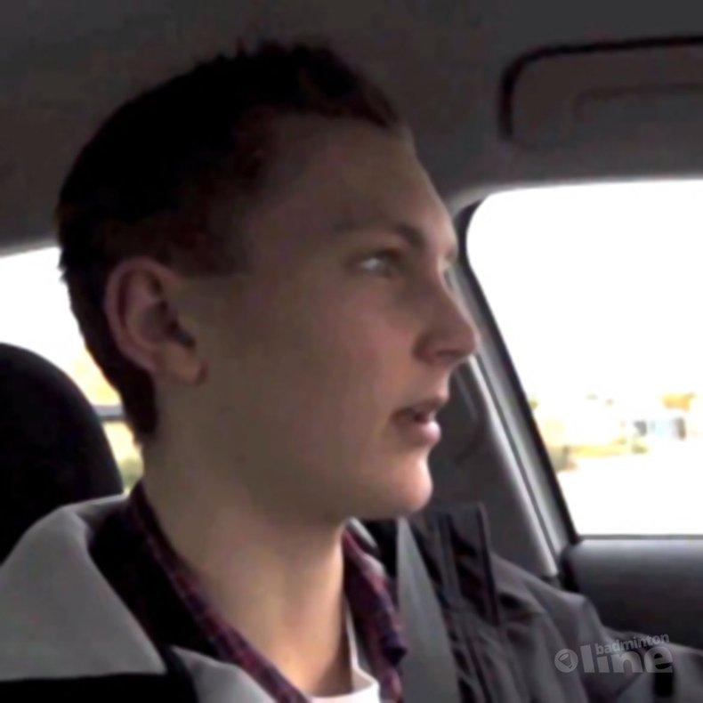 Deze afbeelding hoort bij 'Viktor Axelsen takes us on a car ride' en is gemaakt door Badminton Europe