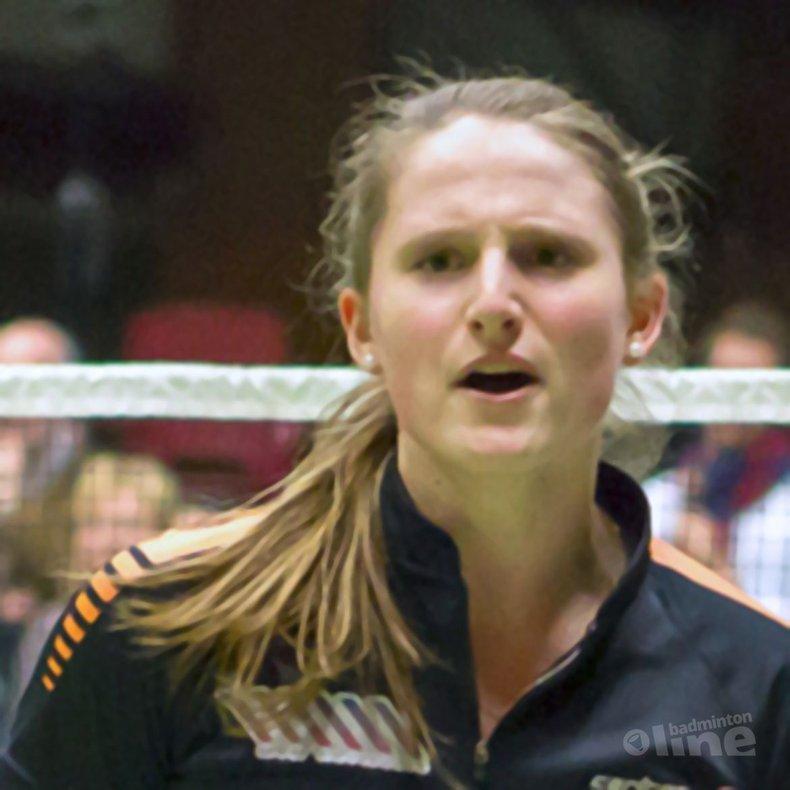 Deze afbeelding hoort bij 'Kirsten van der Valk: 'Halve finale play-offs'' en is gemaakt door René Lagerwaard