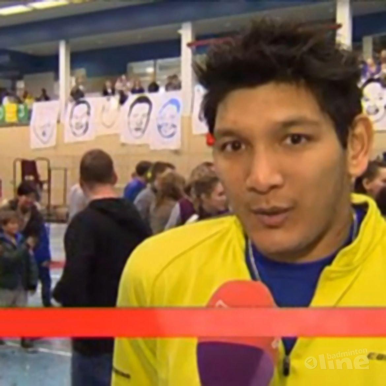 Omroep Flevoland: 'Badmintonners uitgeschakeld in play-offs'