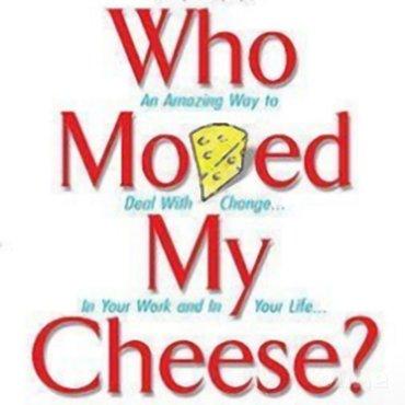 Wie heeft mijn kaas weggehaald?