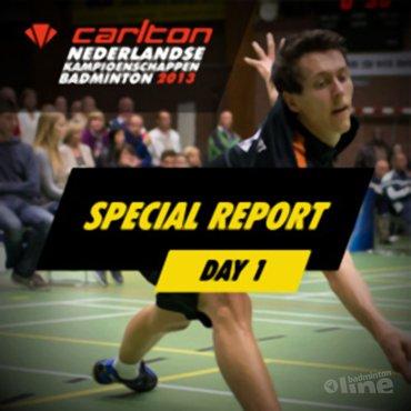 Carlton NK 2013: Vincent de Vries beëindigt studie en kiest voor topsport
