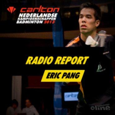 Carlton NK 2013: Interview met Eric Pang na zijn halve finale