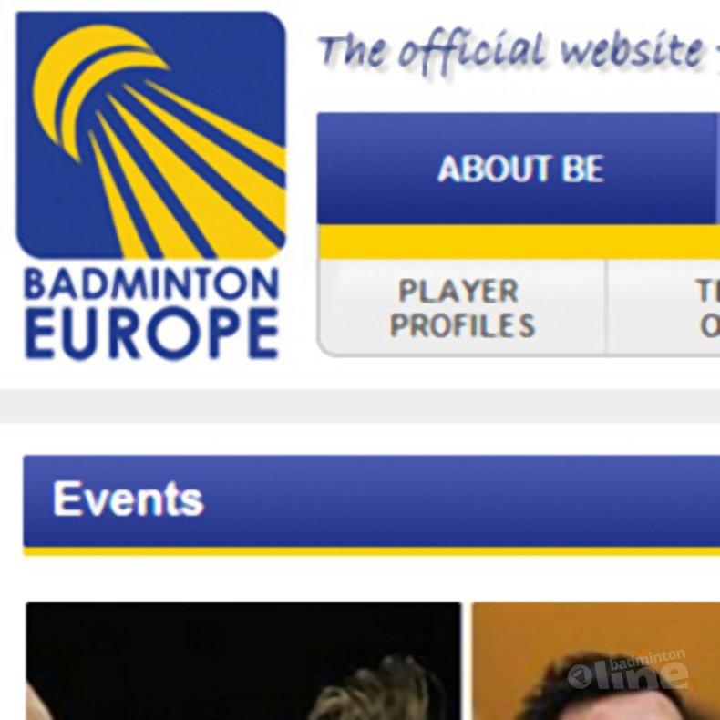 Deze afbeelding hoort bij 'Europe's best head to Ramenskoe' en is gemaakt door Badminton Europe