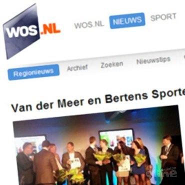 WOS: 'Van der Meer en Bertens Sporters van het jaar'