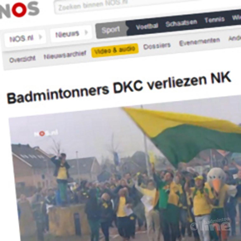 NOS: 'Badmintonners DKC verliezen NK'