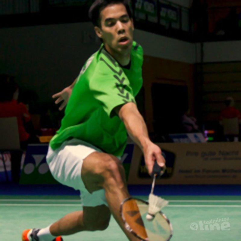Eric Pang stunt op German Open - Alex van Zaanen