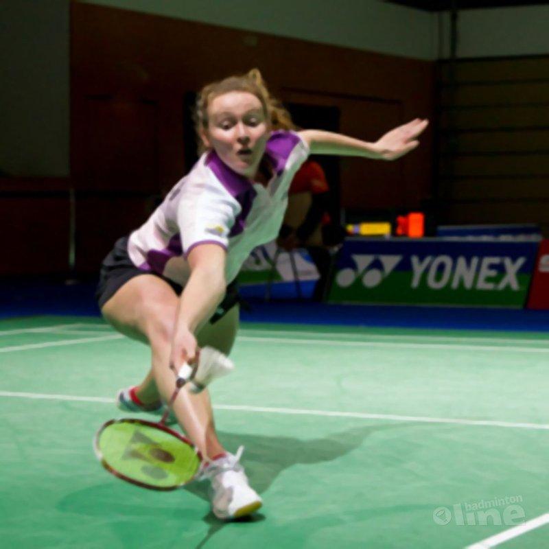 Sabrina Jaquet vandaag maatje te groot voor Patty Stolzenbach - Alex van Zaanen