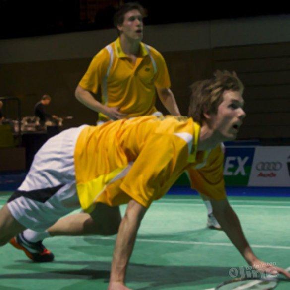 Schitterende herendubbel  van Koen en Ruud - Alex van Zaanen