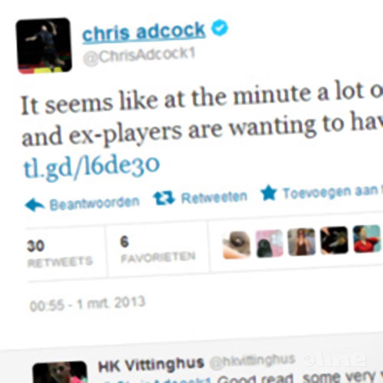 Chris Adcock responds to criticism on National Centre