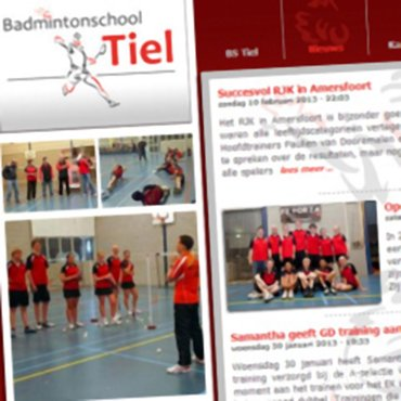 Tweede open dag bij de Badmintonschool Tiel