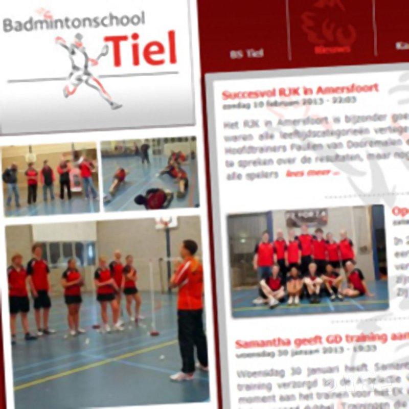 Tweede open dag bij de Badmintonschool Tiel - BS Tiel