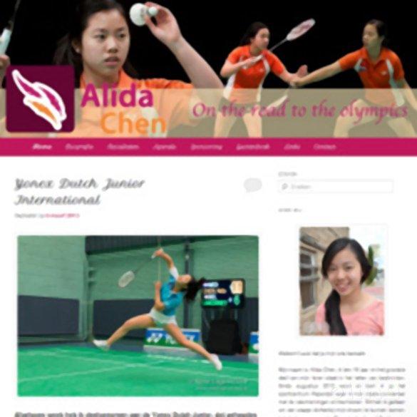 Alida Chen presenteert haar nieuwe website - Alida Chen