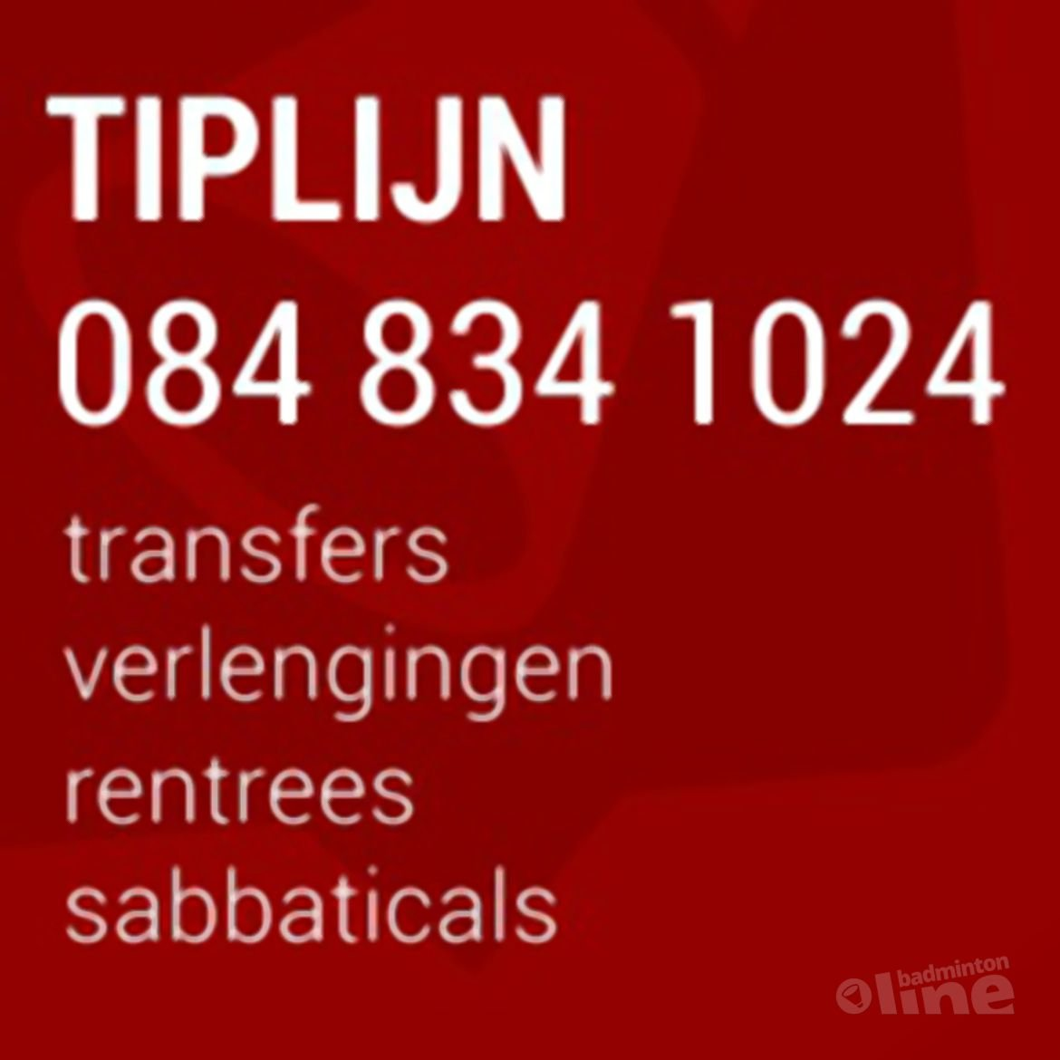Transfers in de Carlton Bondscompetitie: word informant!