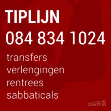 Transfers in de Carlton Bondscompetitie: word informant!