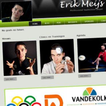 Erik Meijs: 'Ik heb een nieuwe website!'