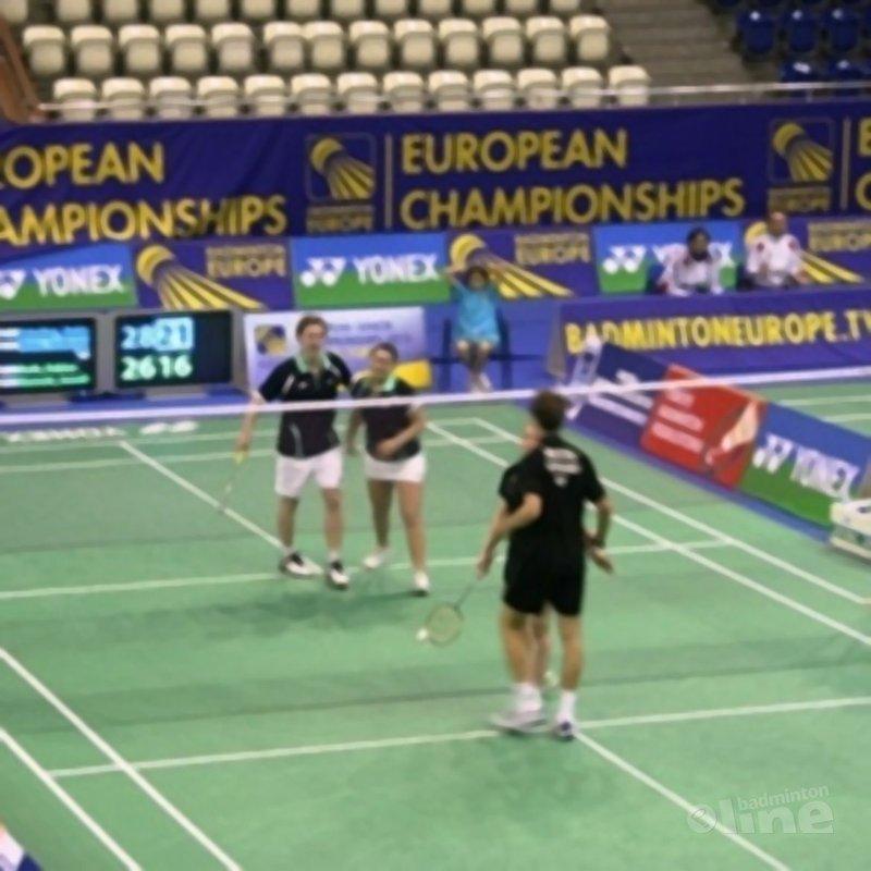 Twee halve finale plekken voor Jong Oranje op EJK - Badminton Nederland