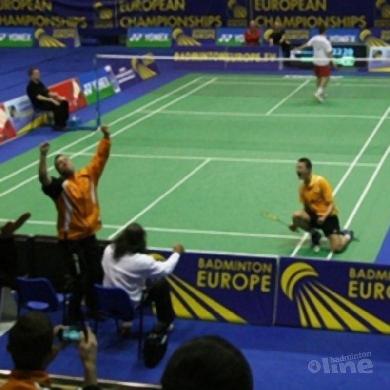 Caljouw en Tabeling/Halkema naar finale EJK - Badminton Nederland