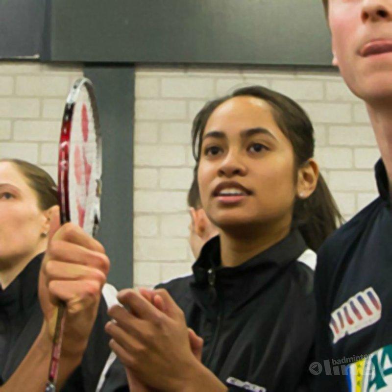 Ook Gayle Mahulette deed mee in Almere - René Lagerwaard