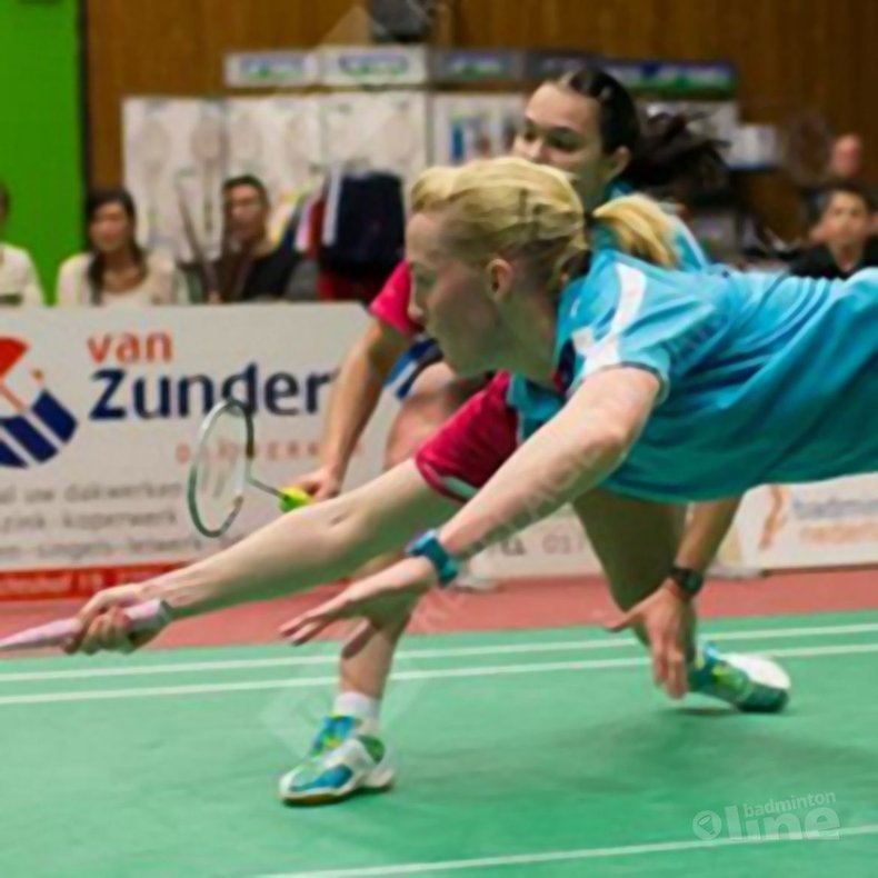 Deze afbeelding hoort bij 'YDI: 'Genieten op finaledag 14e Yonex Dutch International'' en is gemaakt door René Lagerwaard