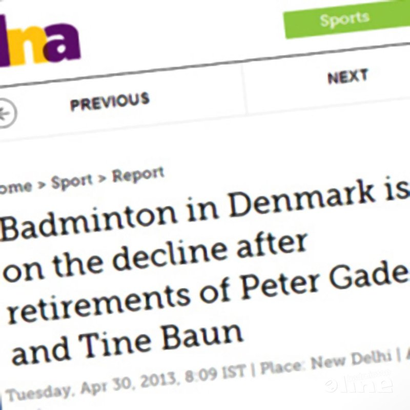 DNA: 'Badminton in Denmark is on the decline after retirements of Peter Gade and Tine Baun' - DNA