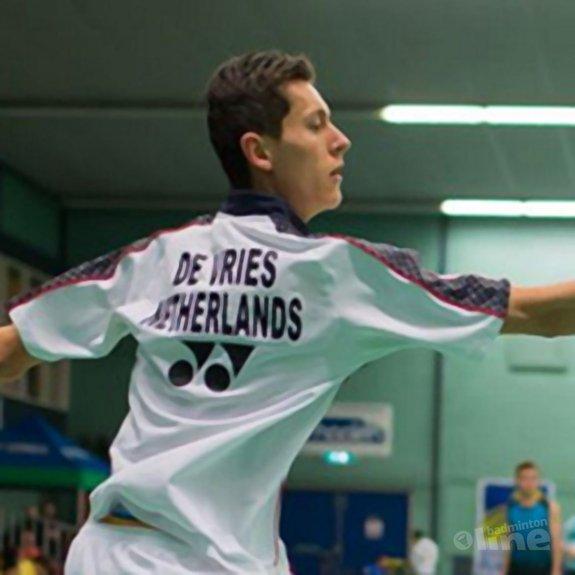 Vincent de Vries naar hoofdtoernooi Slovenia International - René Lagerwaard