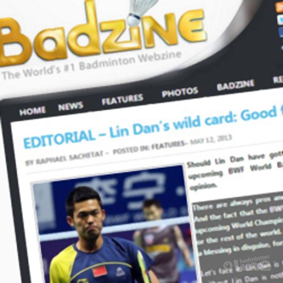 Badzine: 'Lin Dan's wild card: Good for the sport?' - The Star Online
