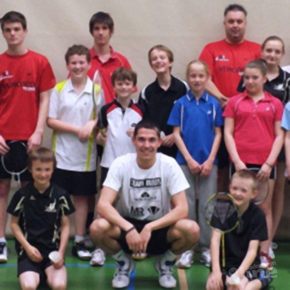 De Vries en Meijs op bezoek bij MR Badmintonschool Noord-Limburg - Badmintonschool Noord-Limburg