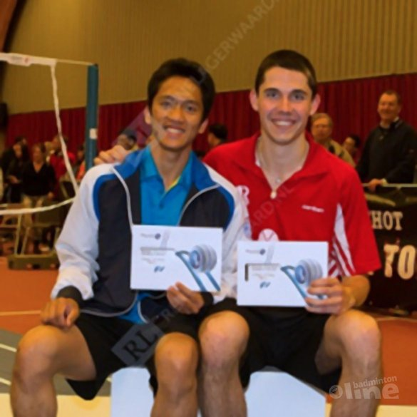 Nummer 1 op Phytalis Grand Prix toernooi - René Lagerwaard