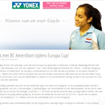 Gayle Mahulette: 'Brons met BC Amersfoort tijdens Europa Cup!'