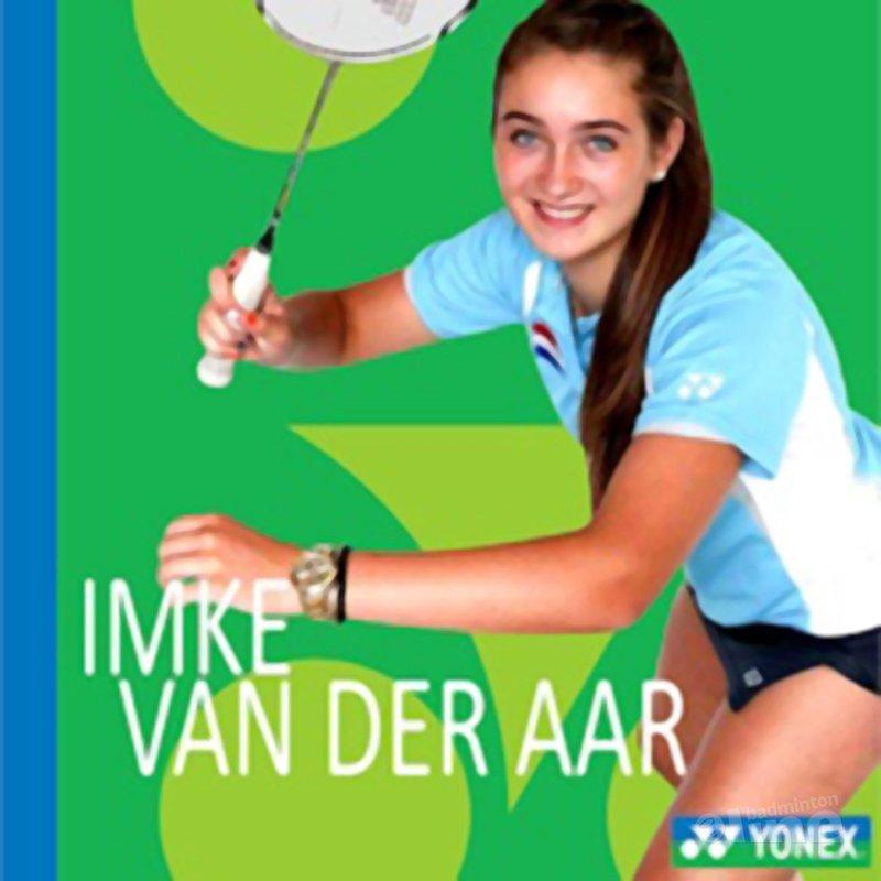 Imke van der Aar kiest voor Yonex - Yonex Benelux